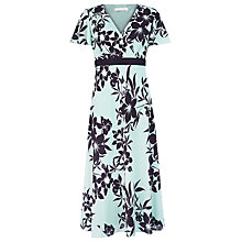 Buy Jacques Vert Cross Front Floral Dress Online at johnlewis.com