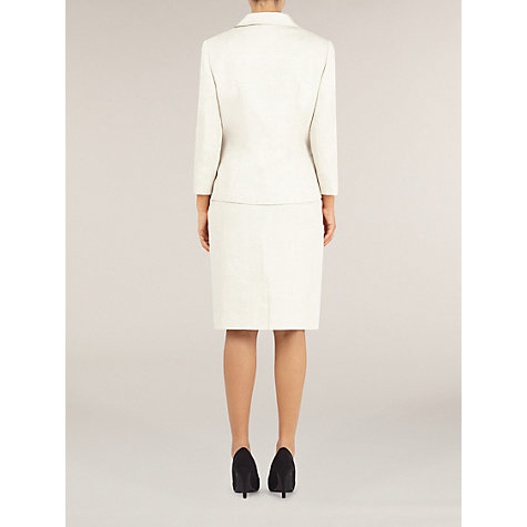 Buy Precis Petite Tailored Linen Jacket, Oyster Online at johnlewis.com