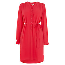 Buy Wishbone Orly Plain Tunic Dress, Bright Pink Online at johnlewis.com