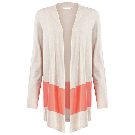 Buy Windsmoor Colour Block Cardigan, Neutral Online at johnlewis.com