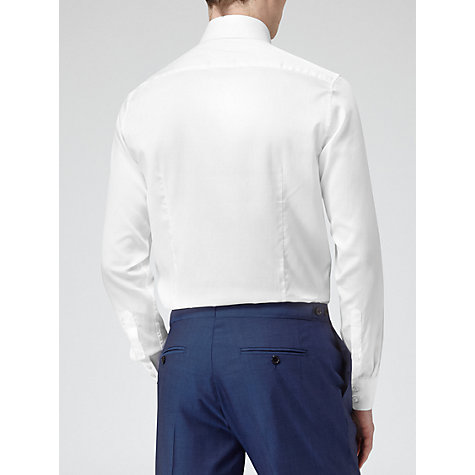 Buy Reiss Squire Classic Fit Shirt, White Online at johnlewis.com