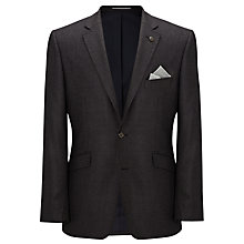 Buy John Lewis Wool Puppytooth Jacket, Indigo Online at johnlewis.com