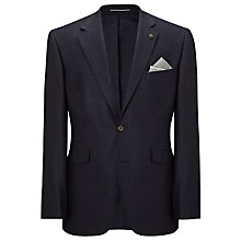 Buy John Lewis Barleycorn Tailored Wool Jacket, Indigo Online at johnlewis.com