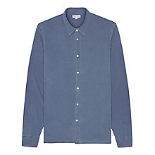 Buy Reiss Oblivion Jersey Shirt, Indigo Online at johnlewis.com