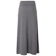 Buy White Stuff Stripe Jersey Maxi Skirt, Onyx Blue Online at johnlewis.com