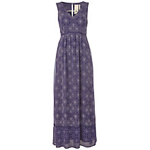 Buy White Stuff Veronique Dress, Dark Grape Online at johnlewis.com