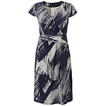 Buy White Stuff Celine Dress, Dark Grape Online at johnlewis.com