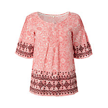Buy White Stuff Havana Top, Calypso Online at johnlewis.com