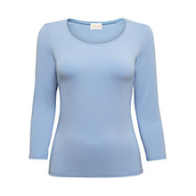 Buy East Stitch Neck Jersey Top Online at johnlewis.com