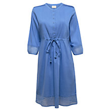 Buy East Pintuck Voile Dress, Ocean Online at johnlewis.com