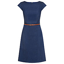 Buy Kaliko Denim Full Dress, Indigo Online at johnlewis.com