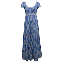Buy East Rambagh Maxi Dress, Ocean Online at johnlewis.com