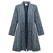 Buy East Shibori Gudri Coat, Ocean Online at johnlewis.com