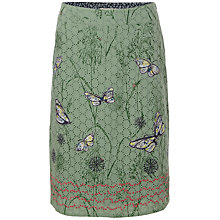 Buy White Stuff Bells & Whistles Skirt, Willow Green Online at johnlewis.com