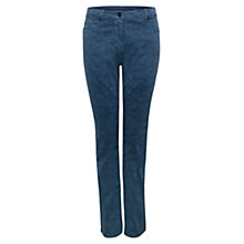 Buy East Printed Jeans, Indigo Online at johnlewis.com