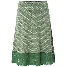 Buy White Stuff Bridgette Jersey Skirt, Dark Willow Online at johnlewis.com