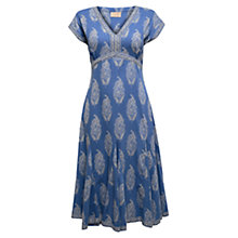 Buy East Rambagh Dress, Ocean Online at johnlewis.com