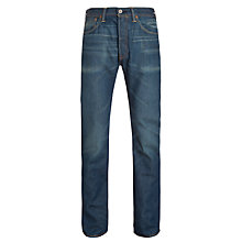 Buy Levi's 501 Original Straight Jeans, Scuffed Online at johnlewis.com