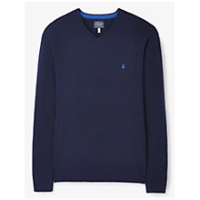 Buy Joules Retford V-Neck Wool Blend Jumper Online at johnlewis.com