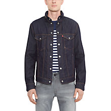 Buy Levi's Commuter Denim Jacket, Indigo Online at johnlewis.com