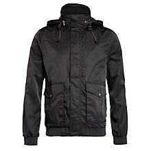 Buy Levi's Windbomber Jacket, Black Online at johnlewis.com