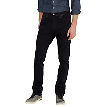 Buy Levi's 513 Slim Straight Leg Jeans, Blue/Black Online at johnlewis.com