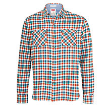 Buy Levi's Truckee Western Check Shirt Online at johnlewis.com