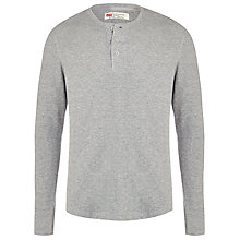 Buy Levi's Henley Long Sleeve Top Online at johnlewis.com
