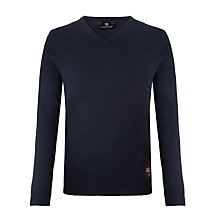 Buy Scotch & Soda V-Neck Merino Wool Jumper, Night Online at johnlewis.com