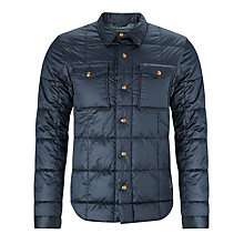 Buy Scotch & Soda Quilted Jacket, Navy Online at johnlewis.com