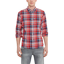 Buy Levi's One Pocket Check Long Sleeve Shirt Online at johnlewis.com