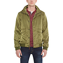 Buy Levi's Windbomber Jacket, Burnt Olive Online at johnlewis.com