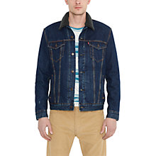 Buy Levi's Sherpa Trucker Jacket, Chattanooga Online at johnlewis.com