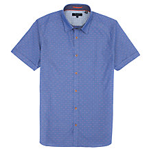 Buy Ted Baker Filcoop Spot Print Shirt Online at johnlewis.com
