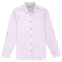 Buy Ted Baker Forever Linen & Cotton Shirt Online at johnlewis.com