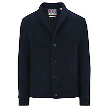 Buy Scotch & Soda Shawl Neck Coat, Night Melange Online at johnlewis.com
