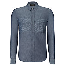 Buy Levi's Commuter City Long Sleeve Shirt, White Wash Online at johnlewis.com