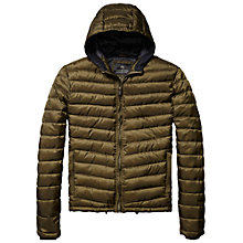 Buy Scotch & Soda Quilted Hooded Jacket Online at johnlewis.com