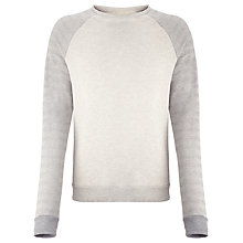 Buy Scotch & Soda Crew Neck Jumper, Grey Online at johnlewis.com