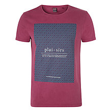 Buy Scotch & Soda Plaisirs T-Shirt, Berry Online at johnlewis.com