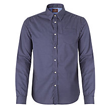 Buy Scotch & Soda Micro Polka Dot Shirt, Navy Online at johnlewis.com