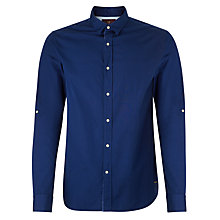 Buy Scotch & Soda Crispy Poplin Shirt, Cobalt Online at johnlewis.com