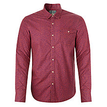 Buy Scotch & Soda Floral Pattern Long Sleeve Shirt, Purple Online at johnlewis.com