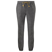Buy Scotch & Soda Cuffed Chino Sweat Pants, Charcoal Melange Online at johnlewis.com