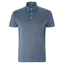 Buy Scotch & Soda Micro Polka Dot Polo Shirt, Blue Online at johnlewis.com