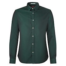 Buy Scotch & Soda Herringbone Shirt, Bottle Green Online at johnlewis.com