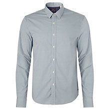 Buy Scotch & Soda Micro Dot Shirt, White/Navy Online at johnlewis.com