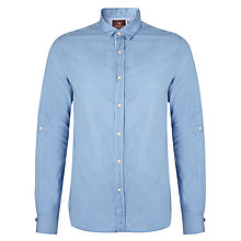 Buy Scotch & Soda Micro Print Shirt, Blue Online at johnlewis.com