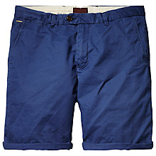 Buy Scotch & Soda Mid Length Chino Shorts, Cobalt Online at johnlewis.com