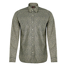 Buy Scotch & Soda Floral Pattern Shirt, Blue Online at johnlewis.com